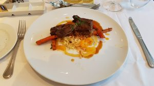 Morroccan Short Ribs in Moonlight Sonata on Celebrity Eclipse