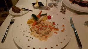 Starter in Murano on Celebrity Eclipse